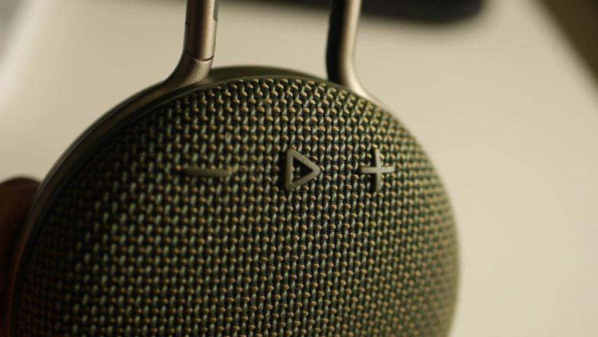 CLIP3の音量調整ボタン