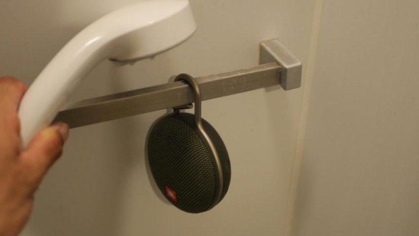 CLIP3をシャワー中に使用