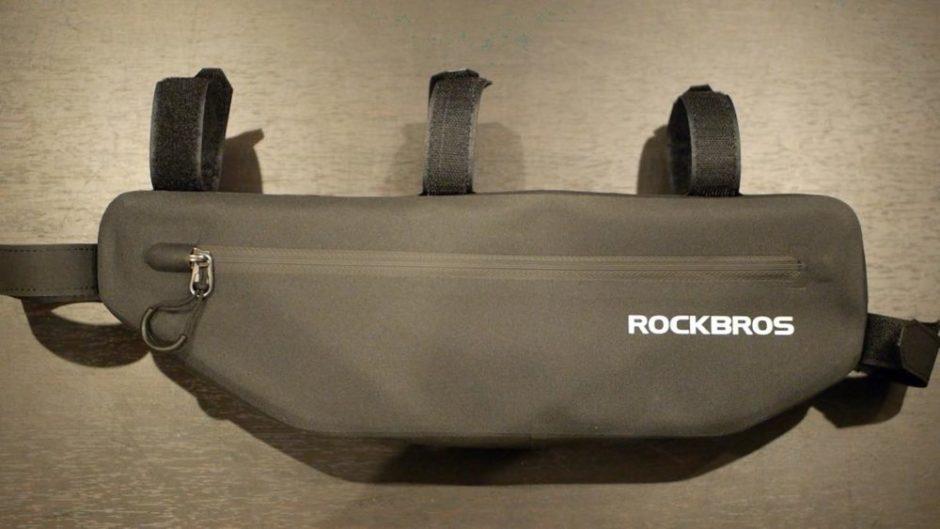 ROCKBROSのフレームバッグ